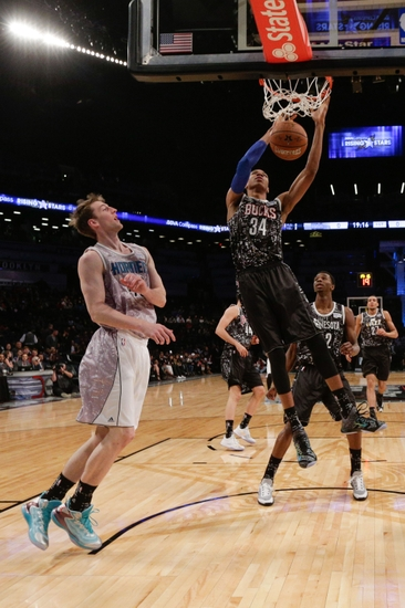 Mr Double Giannis Antetokounmpo Solid In Rising Stars Game