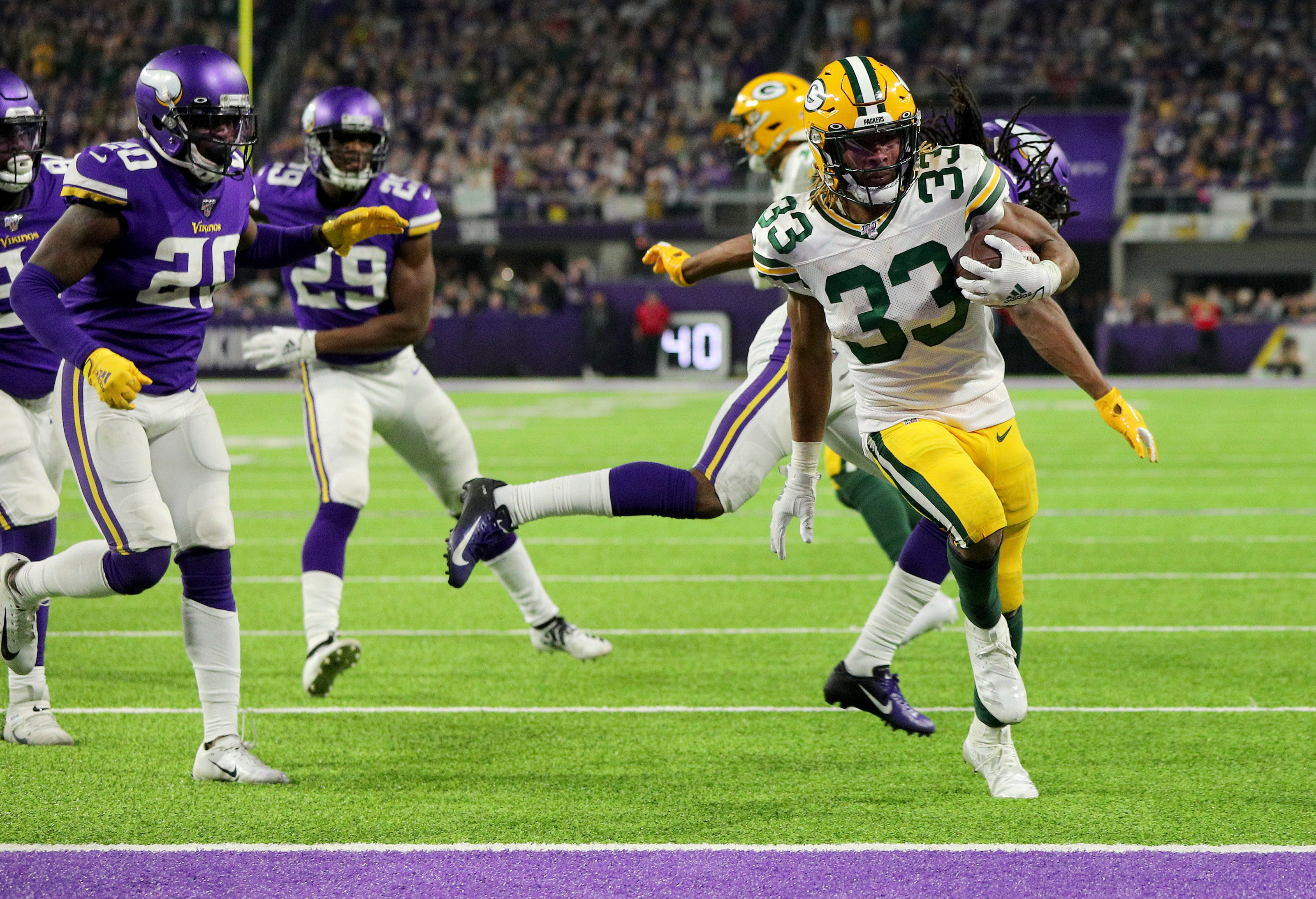 Packers vikings betting predictions nba ig spread betting login to gmail